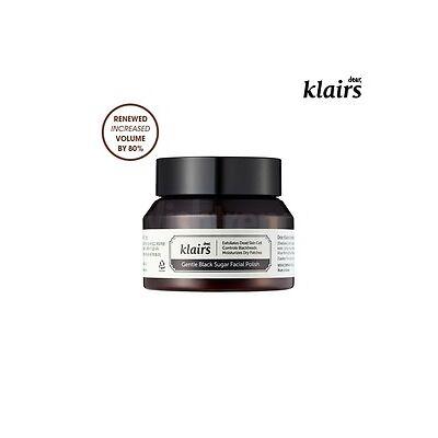 KLAIRS Gentle Black Sugar Facial Polish 110g RENEWED! Exfoliator Blackhead scrub