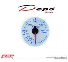 DEPO RACING DIGITAL LADEDRUCK ANZEIGE / TURBO BOOST GAUGE WBL5201W 52mm