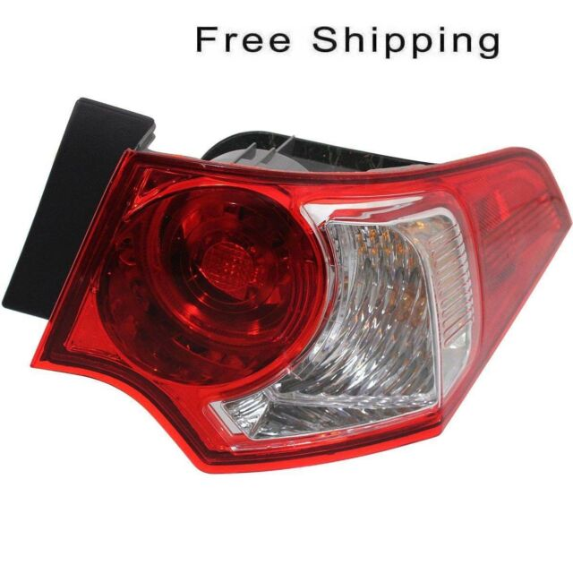Tail Lamp Assembly Passenger Side Outer Fits Acura TSX