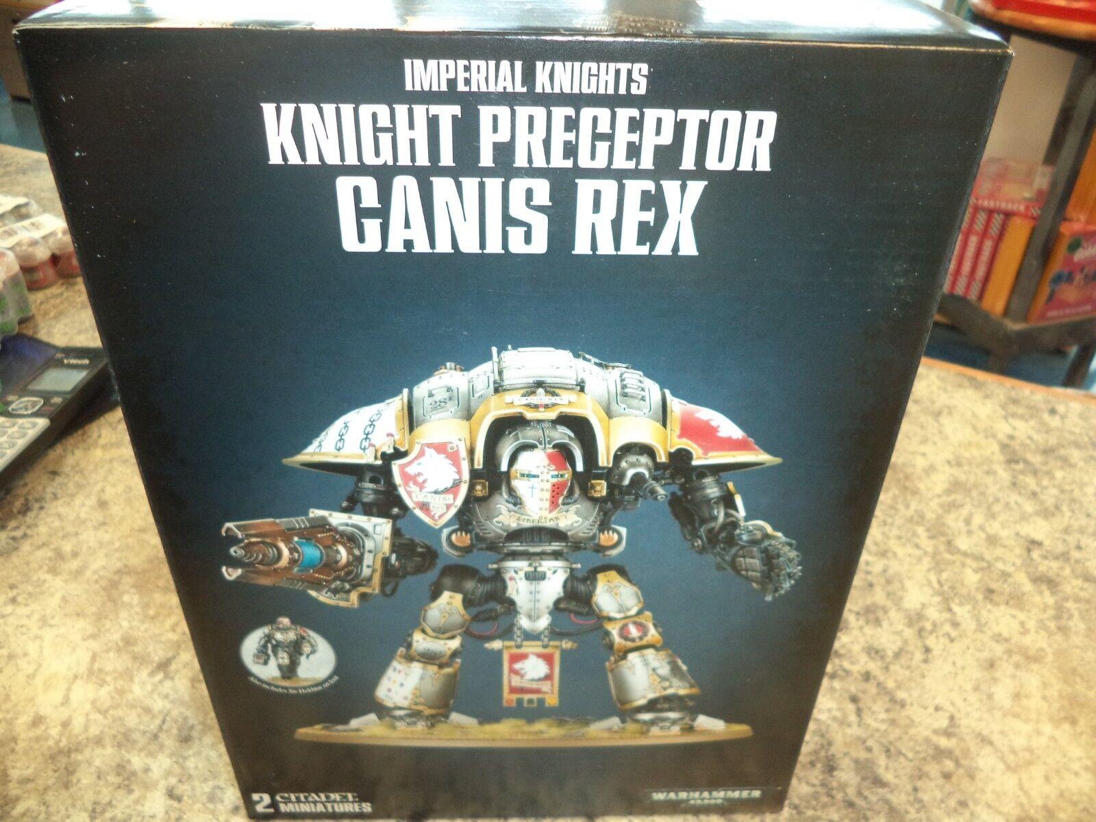 Imperial Knight Preceptor Canis Rex Warhammer 40k 40,000  giocos lavoronegozio nuovo   nuovo di marca
