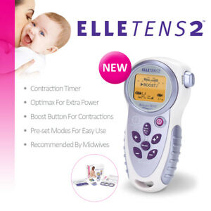 Elle TENS 2 - with Contraction Timer - Maternity TENS unit for labour & beyond 5060079211788
