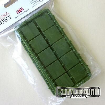 Renedra 20mm Square Plastic Bases
