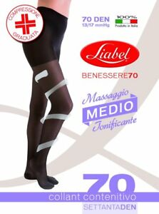 COLLANT-RIPOSANTI-70-DEN-DONNA-COMPRESSIONE-MEDIA-mmHg-13-17-LIABEL-ART-7003