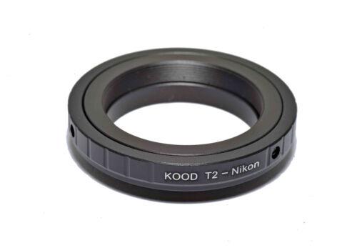 Adaptador de T2 para Nikon F Mount