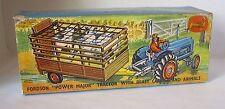 Repro Box Corgi Gift Set Nr.33 Fordson Traktor mit Anhä