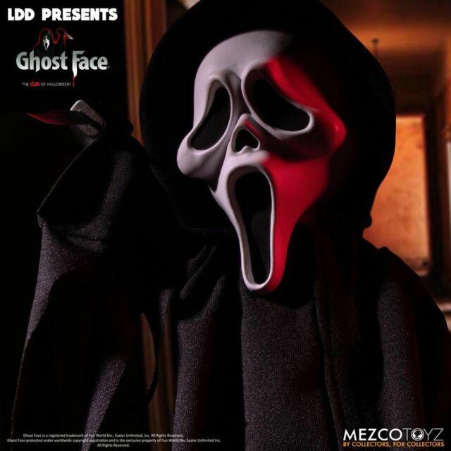 Mezco Living Dead Dolls Presents SCREAM GHOST FACE DOLL IN STOCK