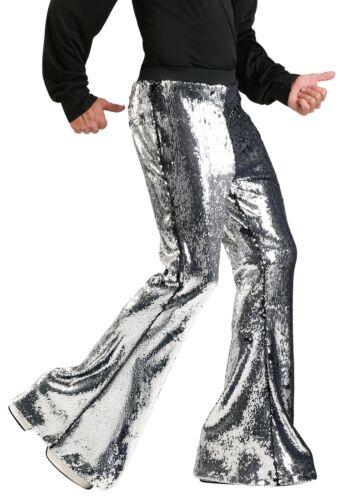 Mens Reversible Sequin Disco Pants
