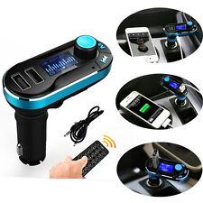 Kit Bluetooth Per Auto MP3 Lettore trasmettitore FM SD caricabatterie USB