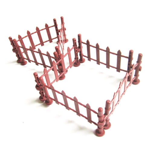 7X Military Fence Rail Board Toy Soldier Accessories Railway building kit CA