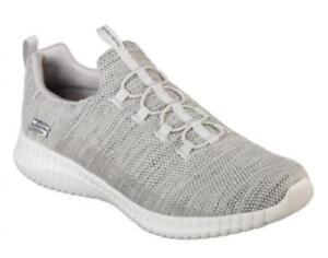 81dd5125d4f4 SKECHERS Elite Flex Beige Men s Athletic Shoes Memory Foam Slip On ...