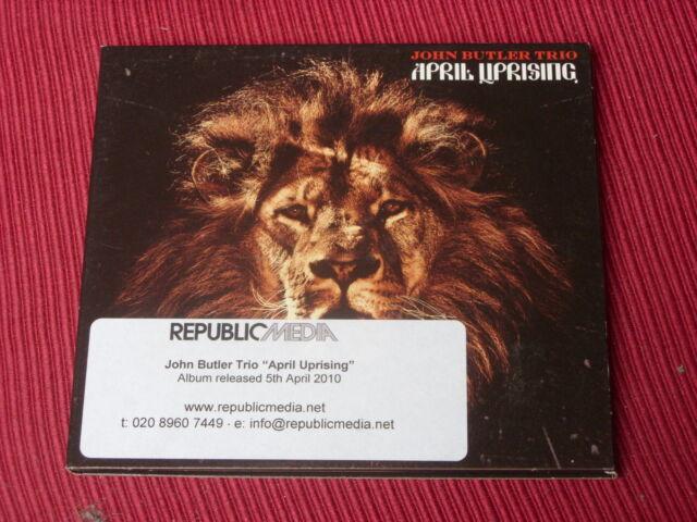 John Butler Trio:   April Uprising     NEW PROMO  CD  + BOOKLET