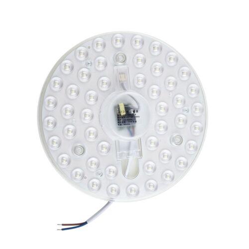 Panel Licht Modul Decke Magnet Lampe Rund Weiß Ersatz Retrofit 12W 40W
