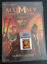 The Mummy: Tomb of the Dragon Emperor (DVD, 2008) New FREE SHIPPING Sealed Movie