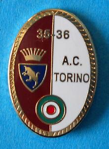 DISTINTIVO-SPILLA-PIN-BADGE-AC-TORINO-CALCIO-COPPA-ITALIA-35-36-823