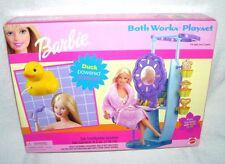 Mattel Vintage Barbie Bath Works Playset 2000 Bathroom Furniture Working Shower