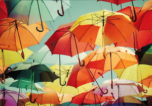 COLORFUL-UMBRELLAS-Modern-Russian-postcard