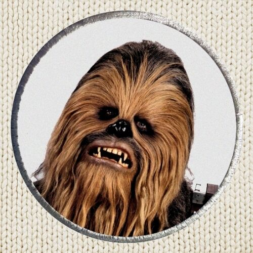 Chewbacca Patch Picture Embroidered Border Star Wars New Hope Millennium Falcon