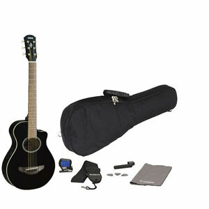 yamaha apxt2 bl acoustic electric guitar black w free gigbag more new ebay. Black Bedroom Furniture Sets. Home Design Ideas