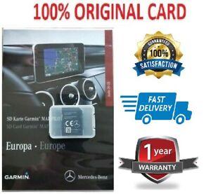 2019-New-Mercedes-GARMIN-MAP-PILOT-SD-CARD-SAT-NAV-A-B-CLA-E-GLS-GLA-GLE-CLASS