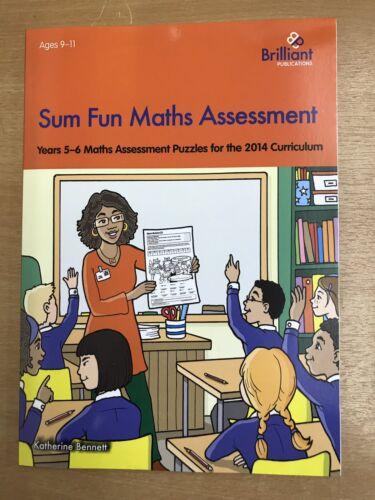 Somme Amusant Maths évaluation années 5-6 Casse-tête//Feuilles de travail