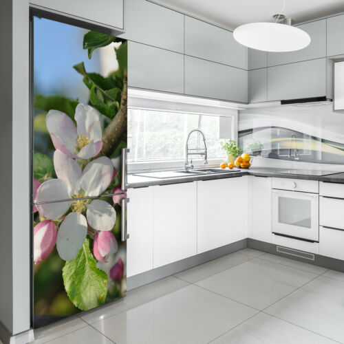 Details about  /3D Wall Fridge Sticker Magnet Kitchen Refrigerator Flower Cherry blossoms