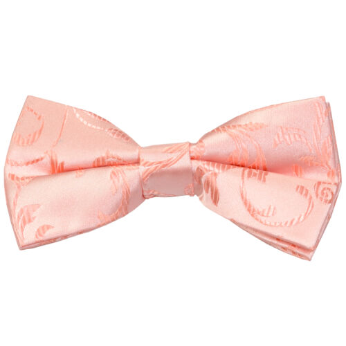 Swirl Leaf Wedding Bow Tie Gents Formal Bow Tie
