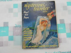 The-Mysterious-Traveler-Magazine-Volume-1-3-March-1952-Vintage-GGA-Digest