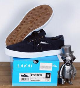 Schuhe Shoes 47 12 Navy Porter Suede Lakai Skate Footwear Eq4n8wWyt7