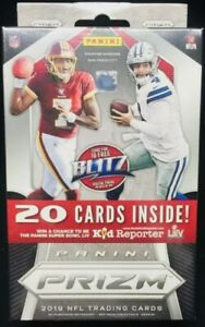 2019-Panini-Prizm-Football-Hanger-Box-Sealed-Red-Ice-Rookies-Lock-Jones-Kyler-RC