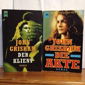 2-Buecher-John-Grisham-Der-Klient-Die-Akte