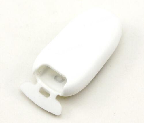 White Silicone Case Cover For Tesla Model S X P85D P70 Remote Smart Key 3 Button