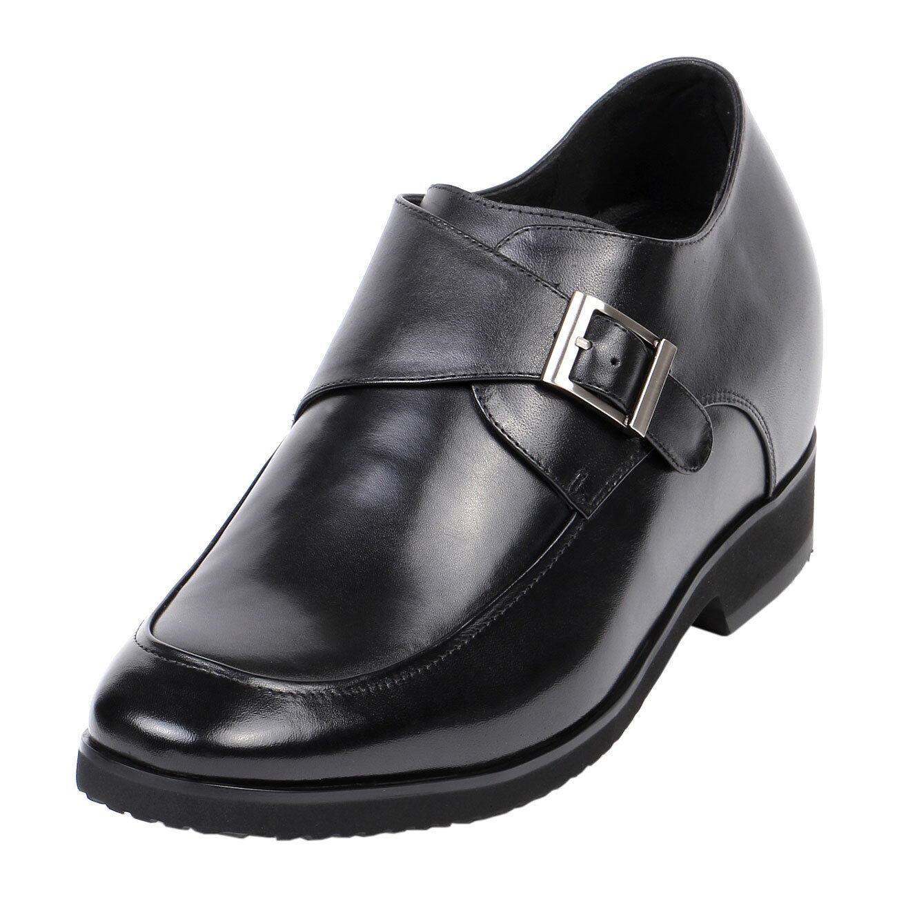 EXtra Height Elevator uomo Leather Make Shoes 4