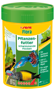 Sera-flora-Die-Gruenflocken-mit-viel-Spirulina-100ml