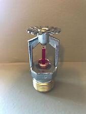 """Fire Sprinkler head VK302 155 degree QR 1/2"""" Pendant Chrome"""