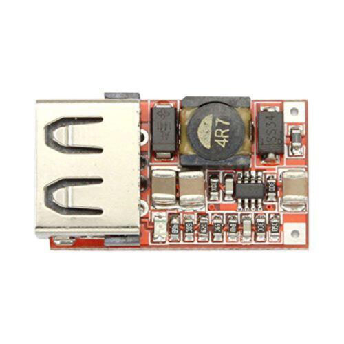 Auto-Ladegerät-Modul 6-24V 12V 24V bis 5V 3A DC Abwärts Abwärtswandler WS6