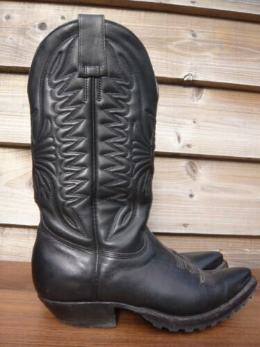 Don Leather 1 3 Germany Ombudsman Quijote Black For Cowboy Boots 2 45O6qdxp