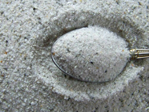 Unprocessed 3 Pounds Arkansas Quartz Crystal Sand Over 92/% Pure Quartz