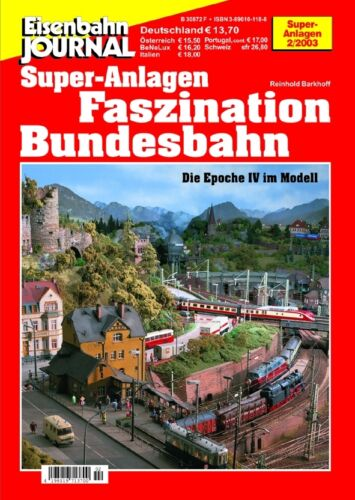 Eisenbahn Journal Faszination Bundesbahn
