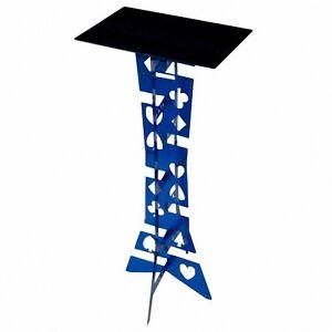 Free Shipping Aluminum folding table magic (blue) - Magic Trick