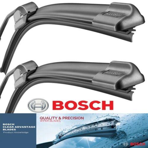 2 pcs Wiper Blades Bosch Clear Advantage for 2014-2016 Audi RS7 Left Right Set