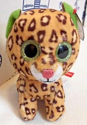 New McDONALDS TY TEENIE BEANIE BOOS Leopard #14 Freckles Plush Happy Meal Toy NW