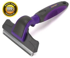 Pet-Deshedding-Tool-By-Hertzko-Great-Tool-Gently-Removes-Shed-Hair-Dogs-cats