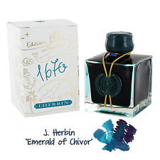 J.Herbin 1670 Anniversary Bottled Ink, 50ml - Emerald of Chivor (H150-35)