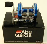 Abu Garcia Ambassadeur 6500cs Pro Rocket Blue Right Hand Reel 2015 1366131
