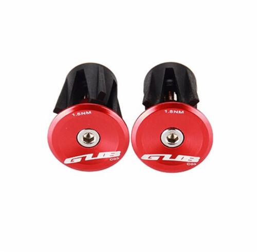 GUB C03 Bicycle Handlebar Plugs AL6061 Bar Plugs 3Colors for 22-24mm Bar Ends