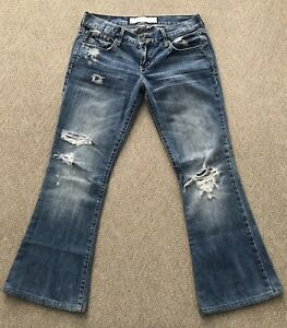 1acf953e4bc Image is loading Abercrombie-and-Fitch-Womens-Distressed-Style-Jeans-Size-
