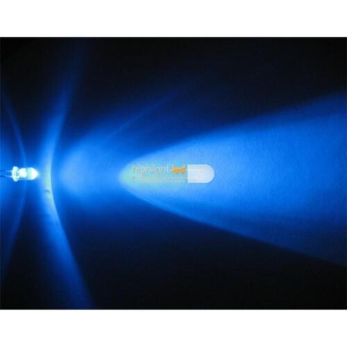 100 LED 5mm bleu dans le lot avec résistance Bleu LED limpide Blue Bleu Blauw