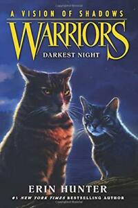 Warriors-A-Vision-of-Shadows-4-Darkest-Night-by-Hunter-Erin-NEW-Book-FREE
