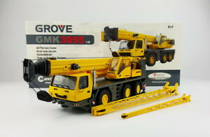 TWH-1-50-Grove-GMK3055-Crane-Truck-Engineering-Machinery-Diecast-Toy-Model-Gift