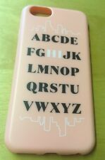 NEW Agent 18 Flexshield iPhone 6 6s Pink Alphabet Hi Phone Protective Case Cover